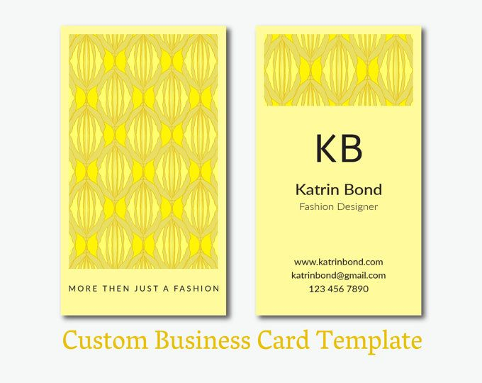Business Card Template Calling Cards by GMBusinesscard on Etsy