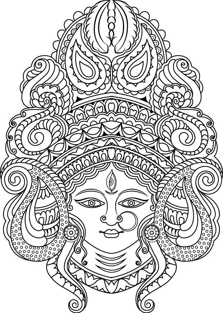 Coloring Pages For Kaisercraft Com Au On Behance Mandala Design Art Madhubani Art Doodle Art Drawing