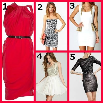 Christmas Party Dresses via Pinterest Finds - Christmas Style Blogpost http://darknsweetlife.blogspot.com/2012/12/10-days-of-christmas-cheer-pinterest.html