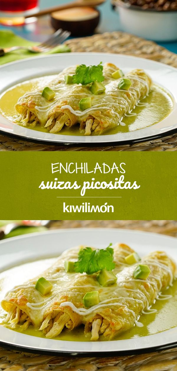 Enchiladas Suizas Picositas
