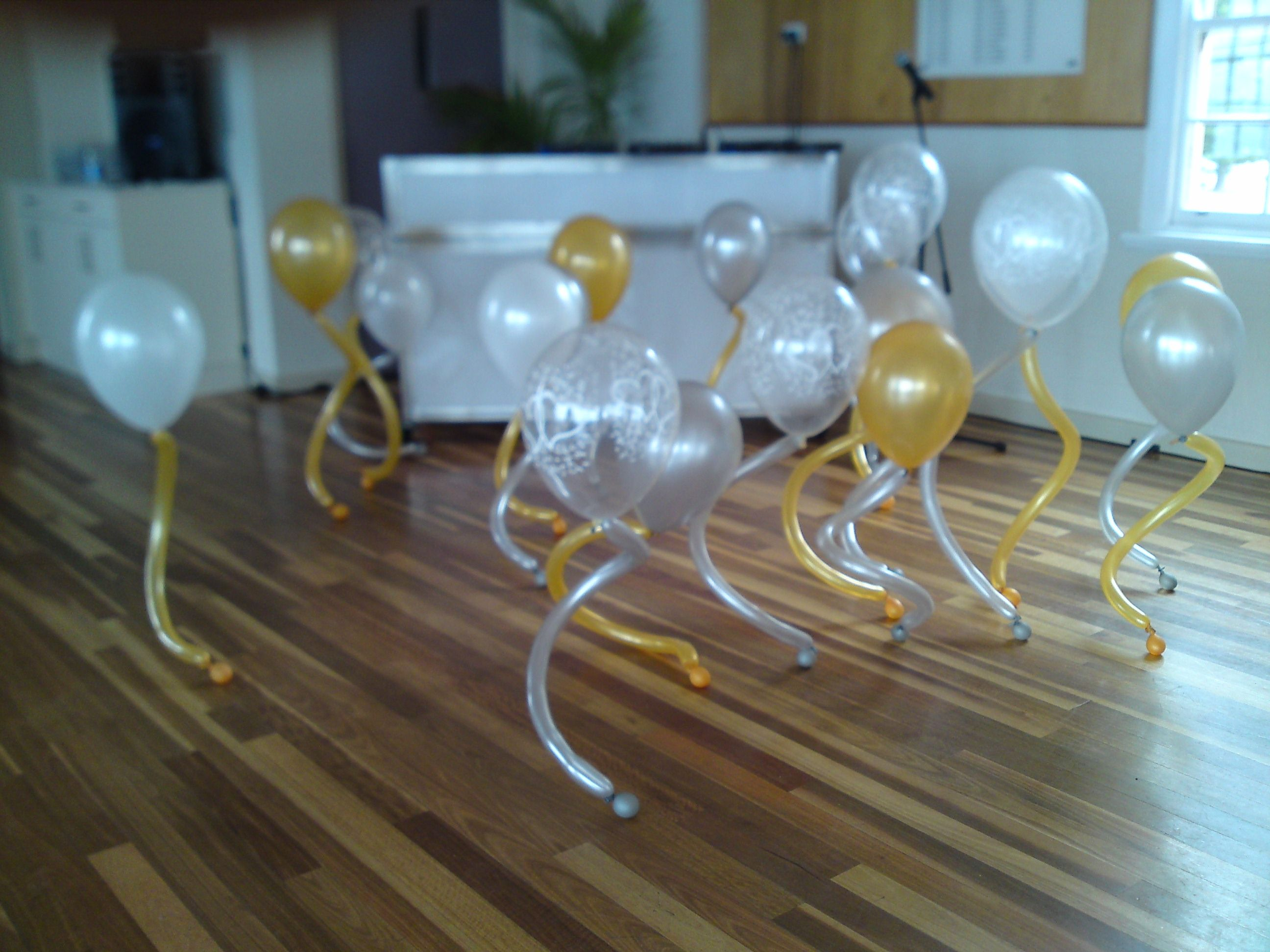 Love Wedding Decorations A Few Diamond Clear Double Heart Print Balloons Add A Touch Of
