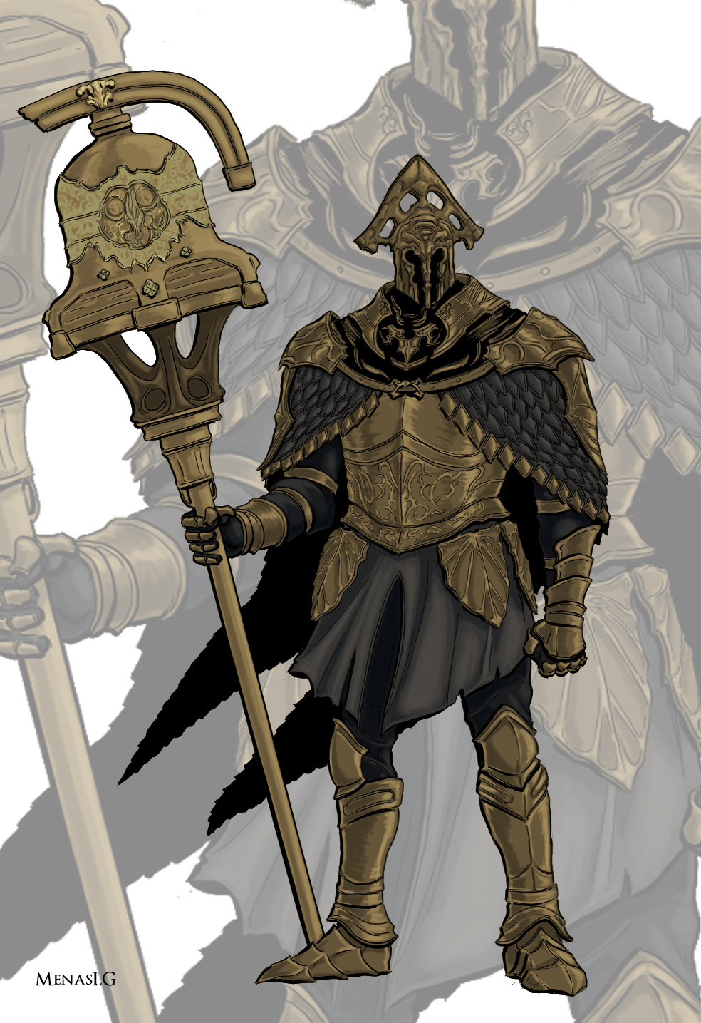 Dark Souls 2 Velstadt By Menaslg On Deviantart Dark Souls 2 Dark Souls Dark Souls Art