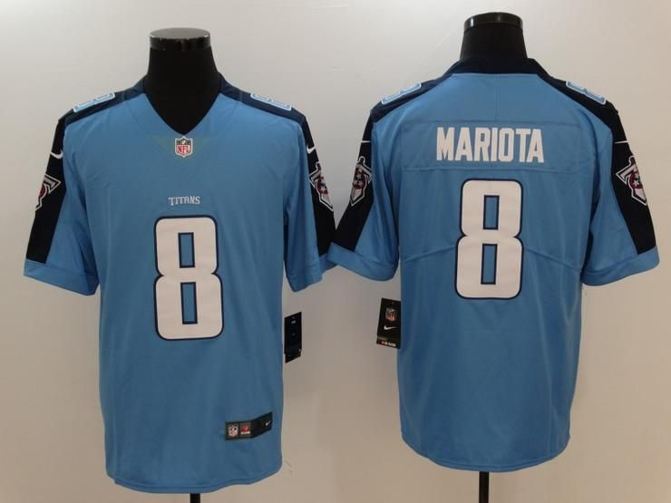 finest selection 3e614 60d50 Men 8 Marcus Mariota Jersey Football Tennessee Titans Jersey ...