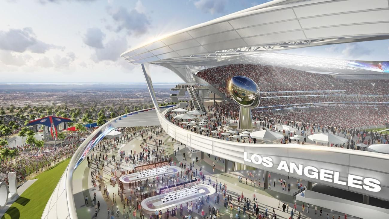 Chargers And Raiders Scrub Lightning Bolts And Flame From Stadium Design Stadium Design San Diego Chargers Stadium