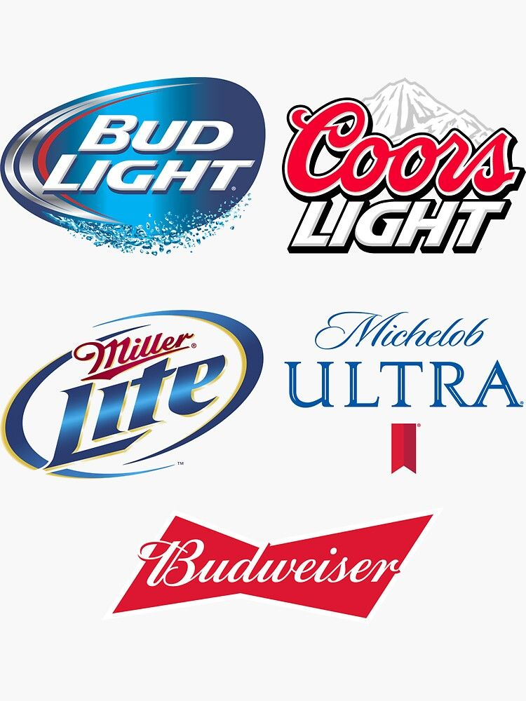 Ultimate American Beer Stickers Great Fathers Day Gift For The Cooler Or Frid Sponsored Stick Beer Stickers Diy Beer Pong Table Beer Pong Table Painted