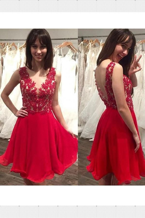 530a36975 Customized Glorious A-Line A-line Homecoming Dress Short/Mini Prom Drsess  Juniors Homecoming Dresses in 2018   Prom Dresses 2019   Pinterest   Dresses,  ...
