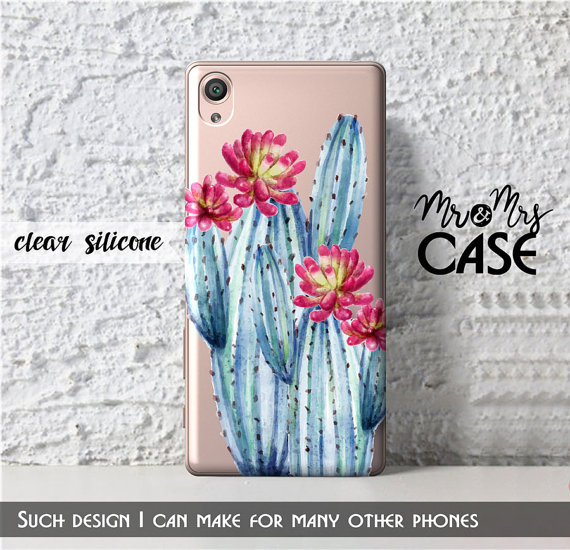 Sony z3 compact clear blue cactus case xperia x performance xperia sony z3 compact clear blue cactus case xperia x performance xperia z5 case ccuart Gallery