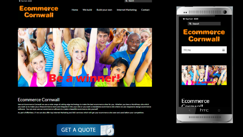 Responsive Web Design By Effortless It Based In Cornwall Website Design Website Des Web Design