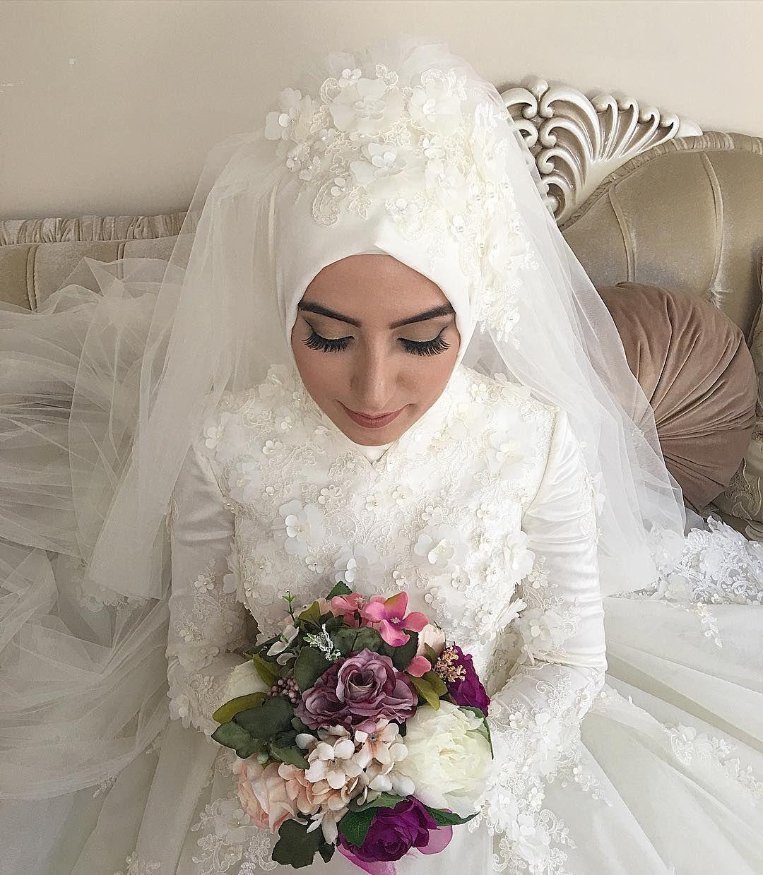 Pin by özlem özdemir on düğün pinterest muslim brides veil and