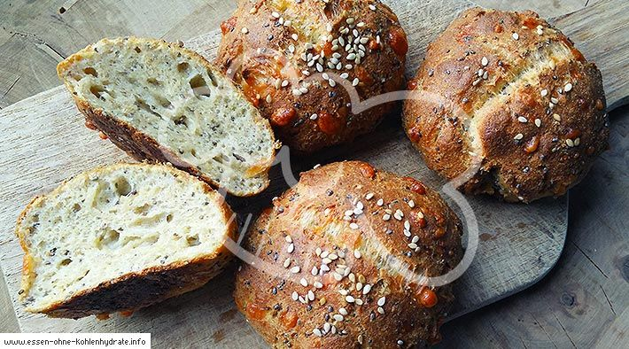 Photo of Low-Carb Chia Protein Buns – Low Carb Recipes