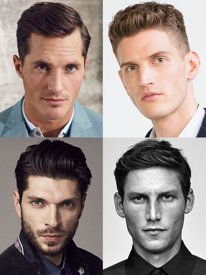 Mens Hairstyleshaircuts For Oval Face Shapes Male Hair Styling