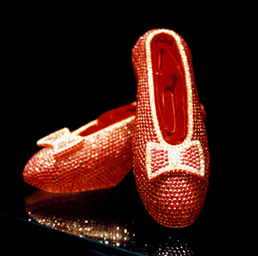 Image result for Harry Winston Ruby Slippers