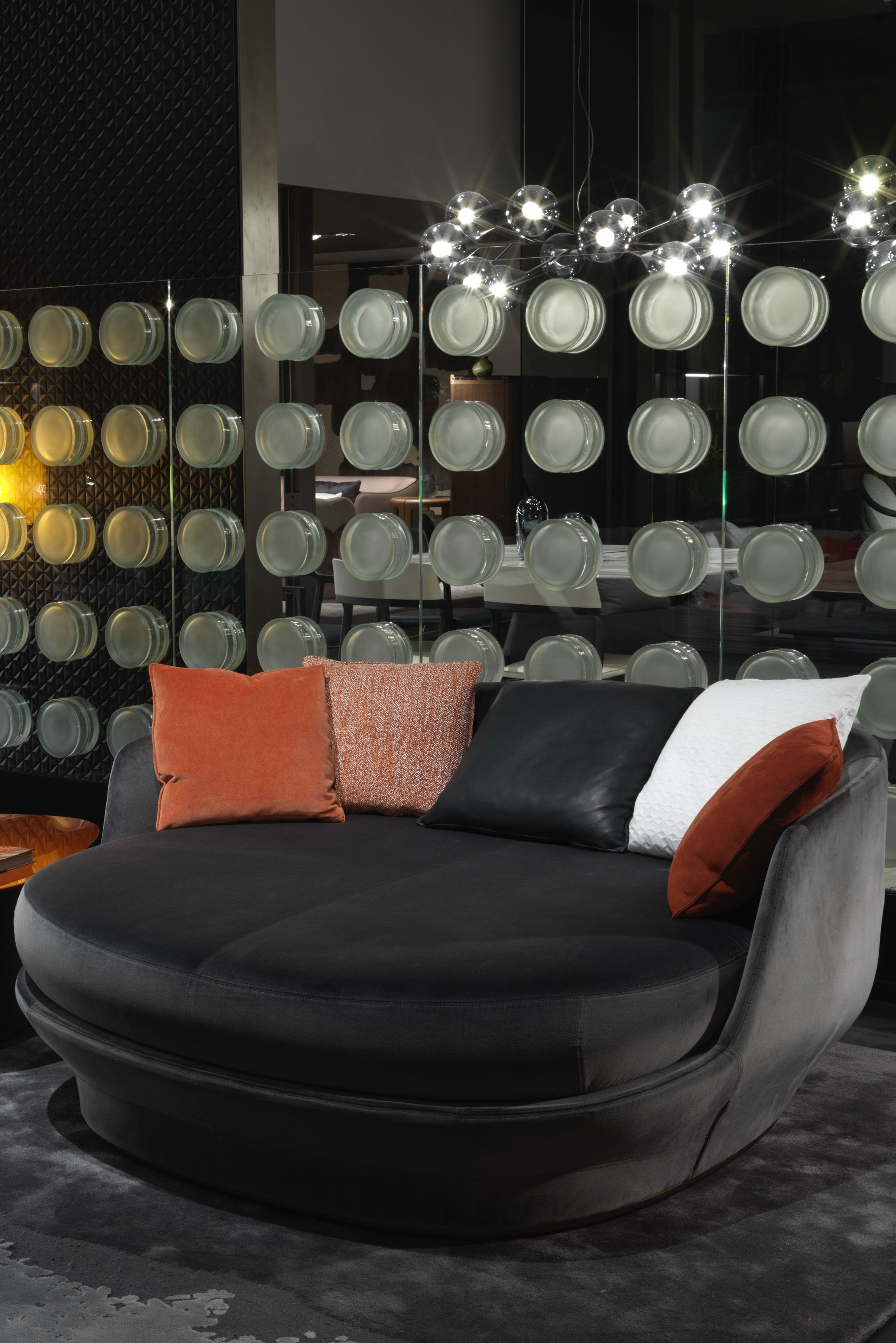 ALL AROUND . Booth at the Salone del Mobile