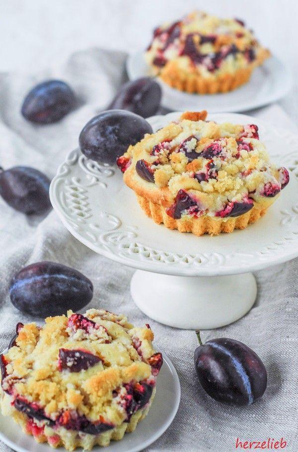 Pflaumenkuchen Mit Streuseln Rezept Kleine Kuchen Ganz Gross Im Geschmack Pflaumenkuchen Mit Streusel Zwetschgen Kuchen Pflaumenkuchen