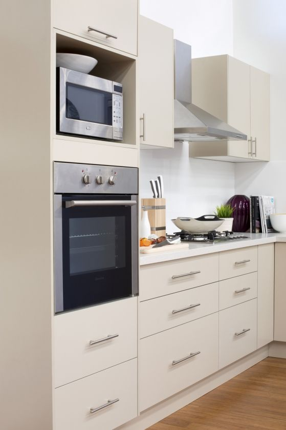 flat pack kitchens gallery looks can be deceiving oven tower kitchen in 2019 kitchen on kaboodle kitchen microwave id=12797