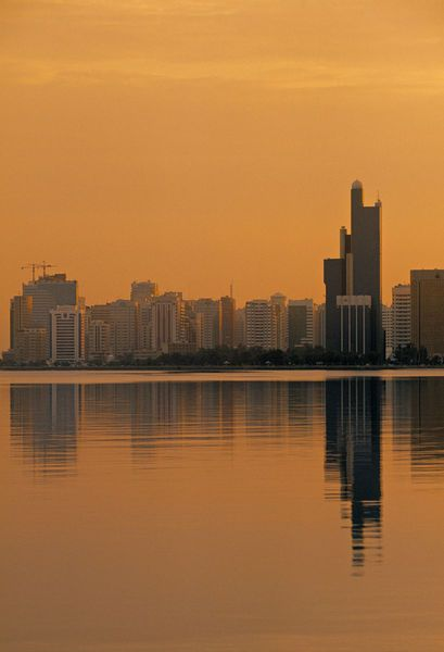 'Abu Dhabi, United Arab Emirates (Walter Bibikow)' by Jon Arnold Images on artflakes.com as poster or art print $20.79