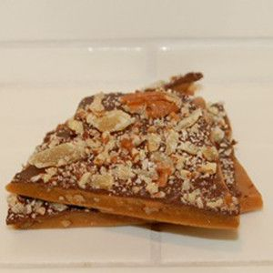I love ginger! Ginger Toffee 8 oz. by Simmering Sugar