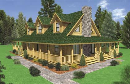 Modular Log Home Floor Plans