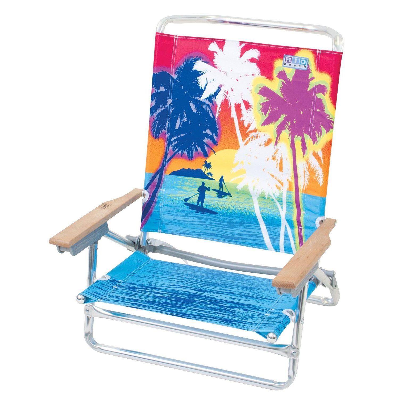 portable reclining beach chair