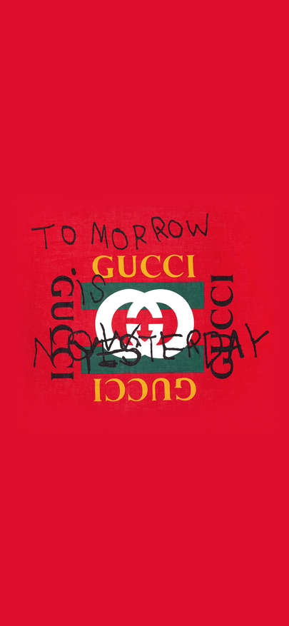 Brand of Gucci To Morrow Wallpapers for iPhone X, iPhone