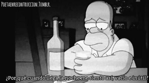 #TheSimpson #Homero #Vació #Triste