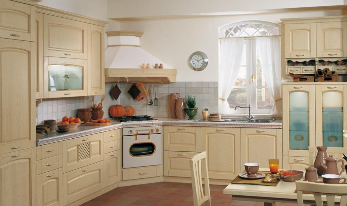 Cucina Ginevra di Stosa in legno beige perfetta per un arredo in ...