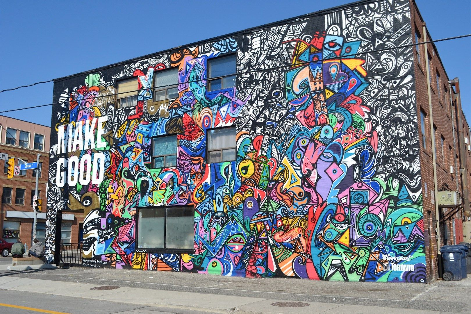 9 of the most instagrammable graffiti spots in toronto
