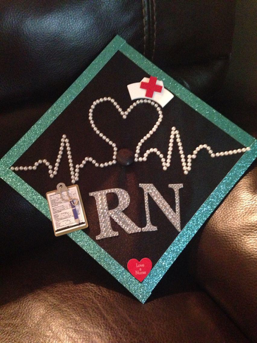 Nursing Graduation Cap Nursing Graduation Pinterest