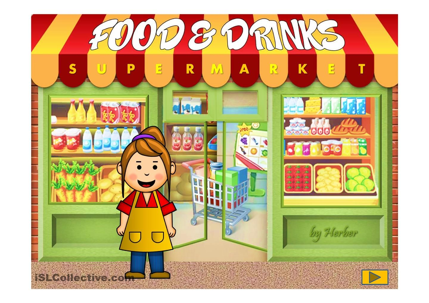 Food And Drinks Esl Powerpoint Of The Day By Herber