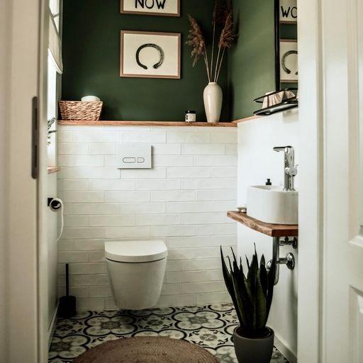 Gäste-WC gestalten: Einladend statt nüchtern, so geh...