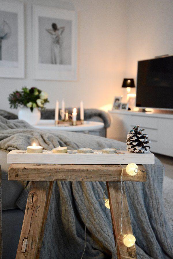 Wohnzimmer im Advent | Wohnideen dekoration, Solebich und Einrichten ...
