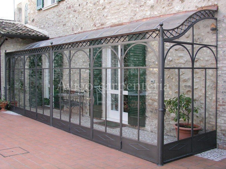 Gazebo Ferro E Vetro.Image Result For Veranda Ferro E Vetro Bump Out Glass