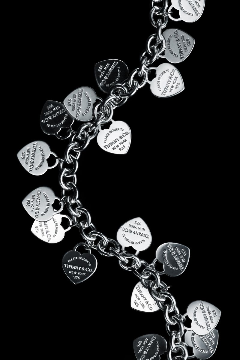 15064b88e Jingle away all season long with our timeless Return to Tiffany® multi-heart  tag bracelet in sterling silver.