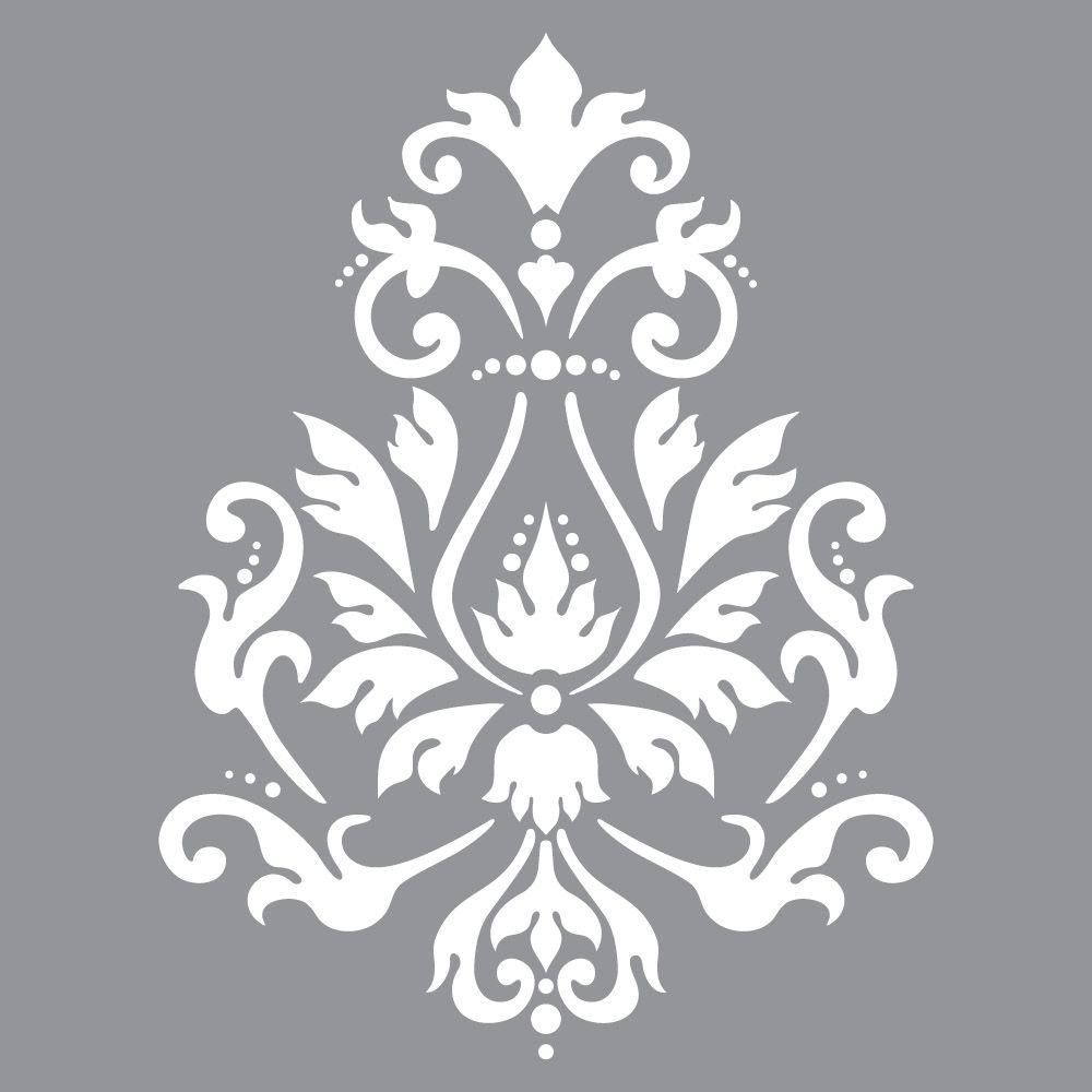 DecoArt Americana Decor Brocade Motif Stencil Stenciling
