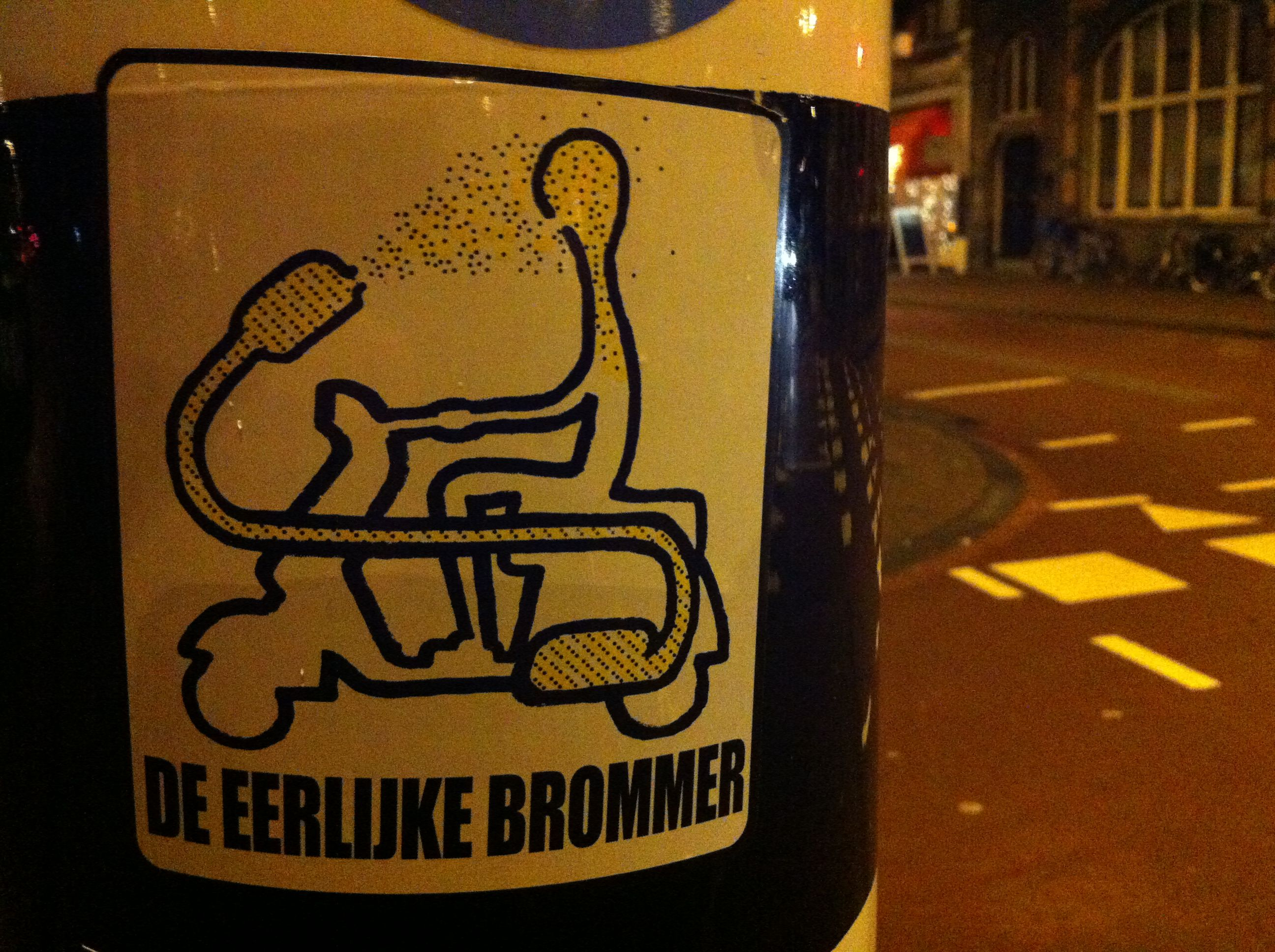 A real honest device for mopeds Found in Haarlem, NL