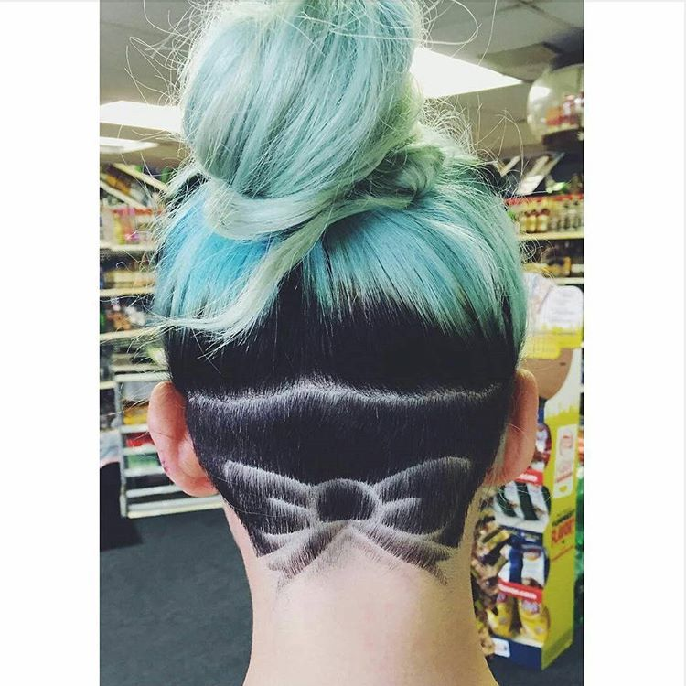 3c4cf2861 Awesome Undercut Ideas for Every Girl | Undercut it! | Shaved hair ...