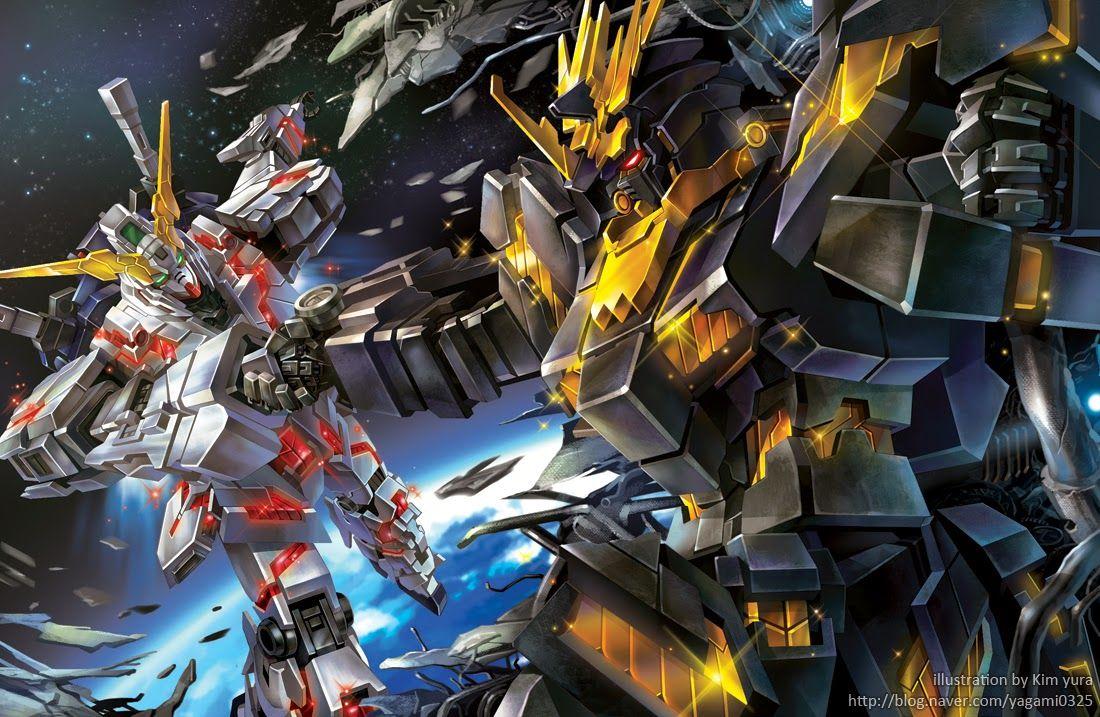 Unicorn Gundam ガンダム イラスト ガンダム 壁紙