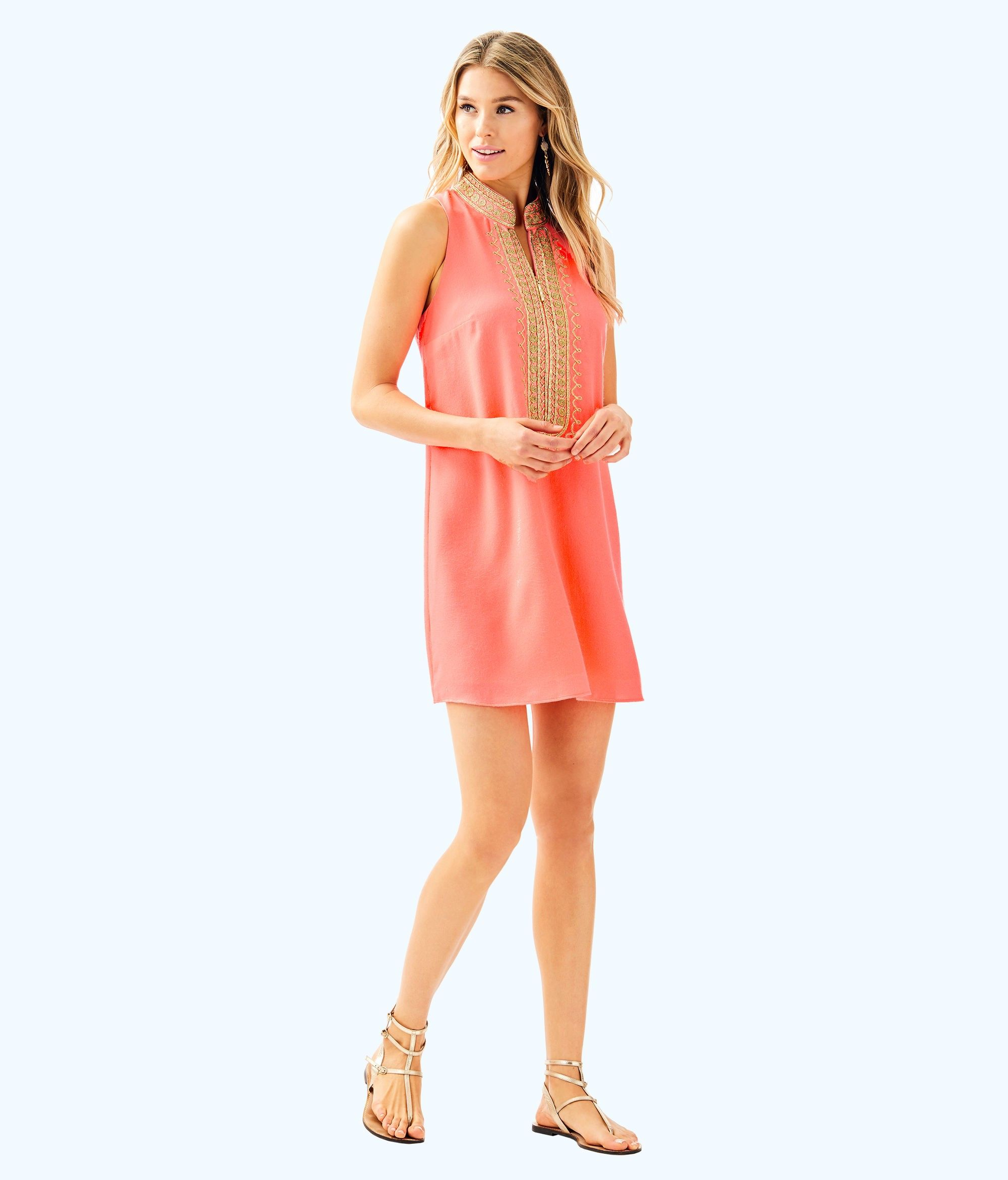 Lilly Pulitzer Jane Shift Dress 14 Gold Shift Dress Dresses Lace Shift Dress [ 2342 x 2000 Pixel ]