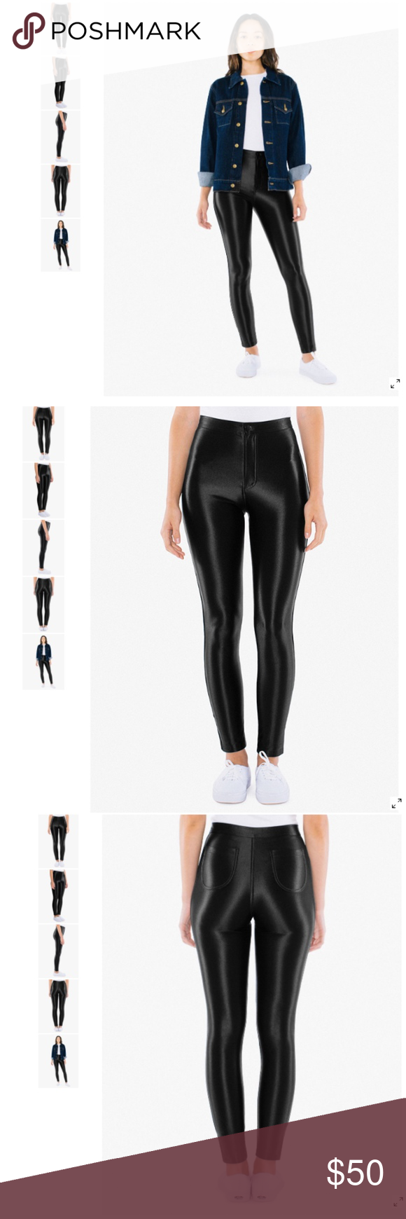 9a144719e7a7b1 NEW American Apparel High Rise Disco Pant rsaah300 New Without Tags  Currently Retail at American Apparel