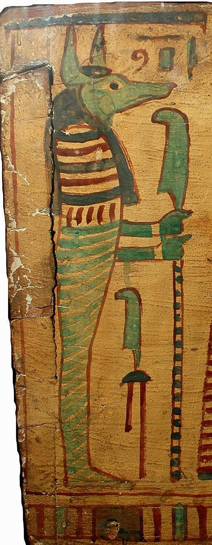 Amnte Nofre Egyptian Religion The God Thoth At Left Ibis