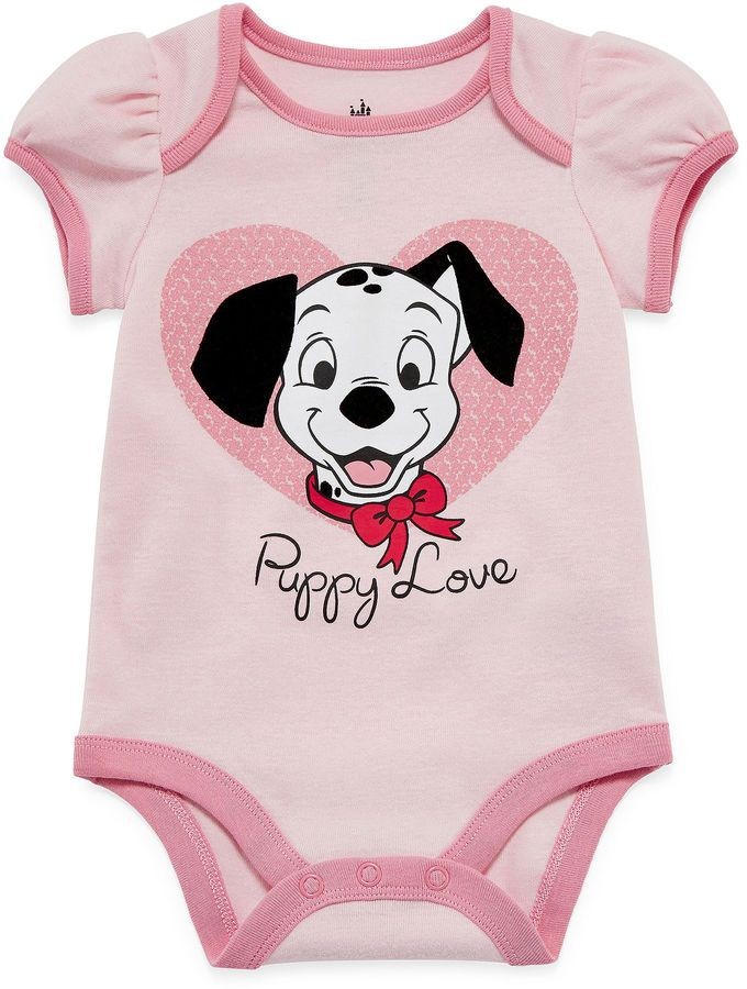 5186ae7dc DISNEY Disney Baby Collection 101 Dalmatians Bodysuit - Baby Girls newborn -24m
