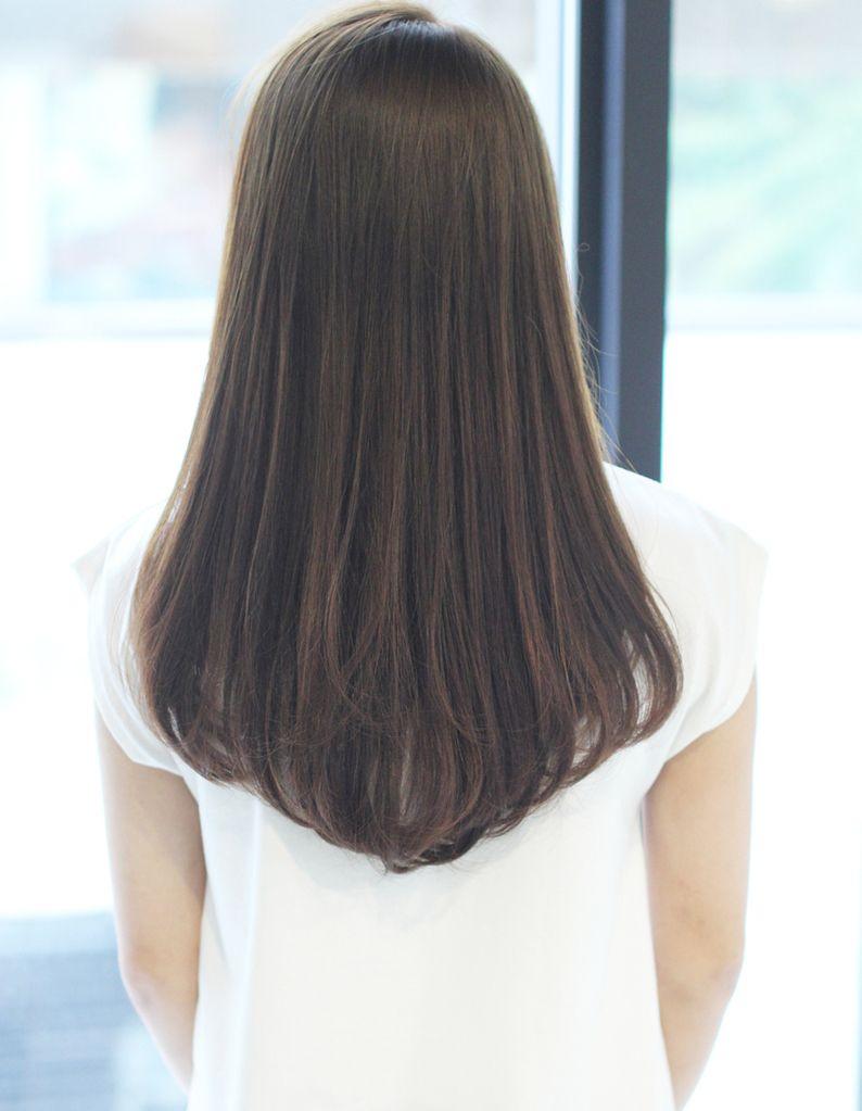 さらさら縮毛矯正小顔ロングストレート So 221 ヘアカタログ 髪型