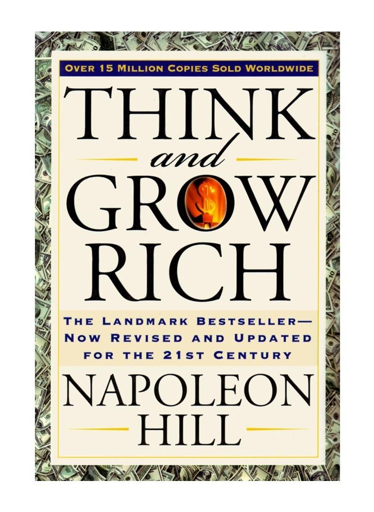 Napoleon Hill Libros Think And Grow Rich Napoleon Hill Book Bucket List Book