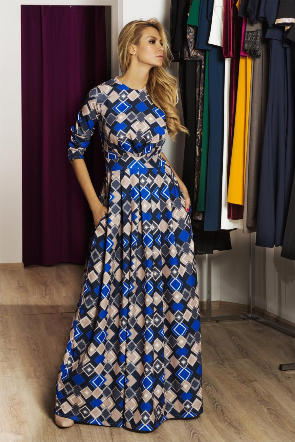 Modest Maxi Dress  Maxi Dresses with Sleeves  Pinterest ...
