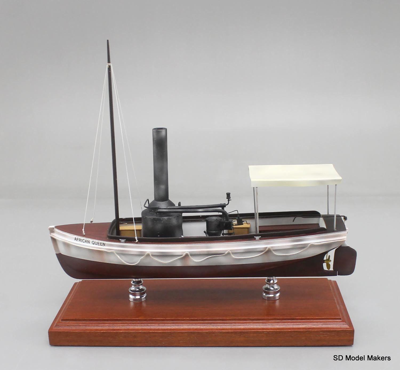 """12"""" African Queen Replica Model Scratch built, not from a ..."""