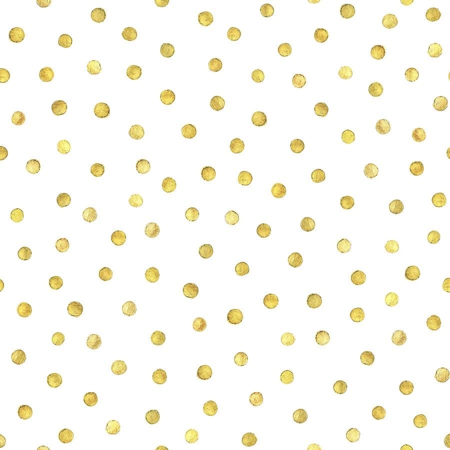Goldidots Dots Wallpaper Gold Polka Dot Wallpaper Polka Dots Wallpaper