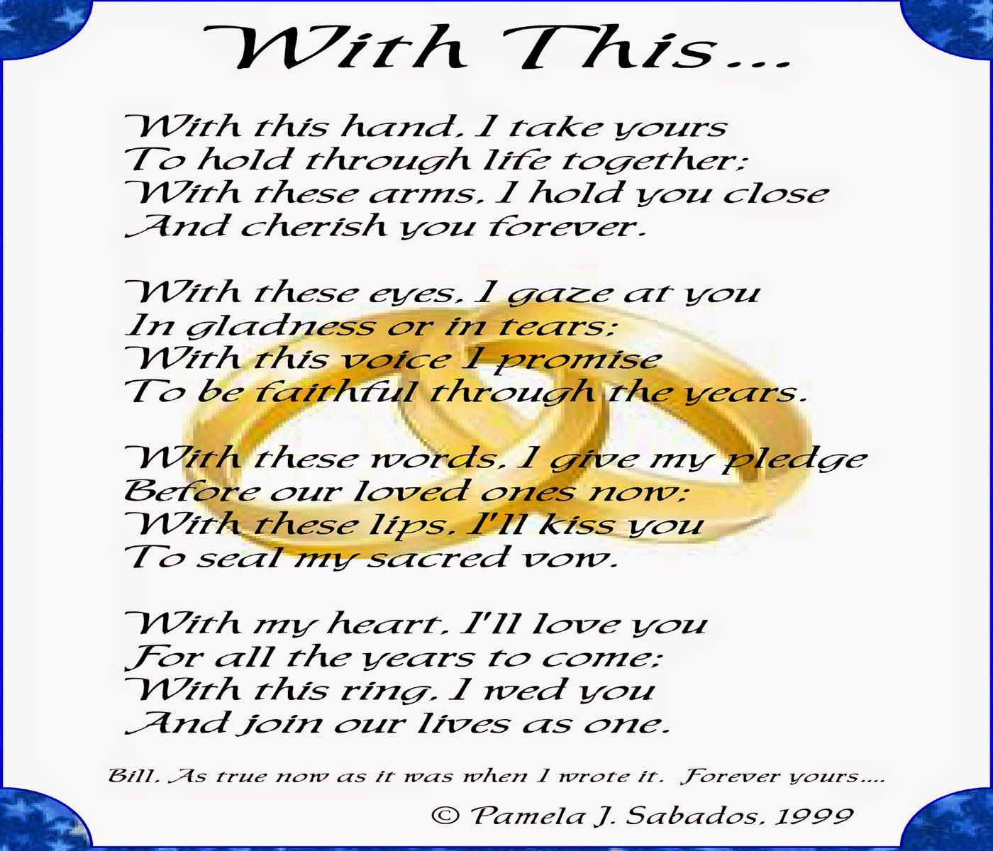 Pin by Didi Marco on Weddings Happy anniversary poems
