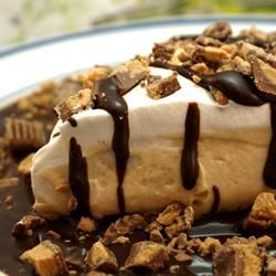 Peanut Butter Pie - 5 ingredients and is delicious! I buy the smaller cool whip container (8oz) and don't put any coll whip on top (it doesn't need it). It also doesn't need the Peanut Butter cups if you're looking to cut costs.
