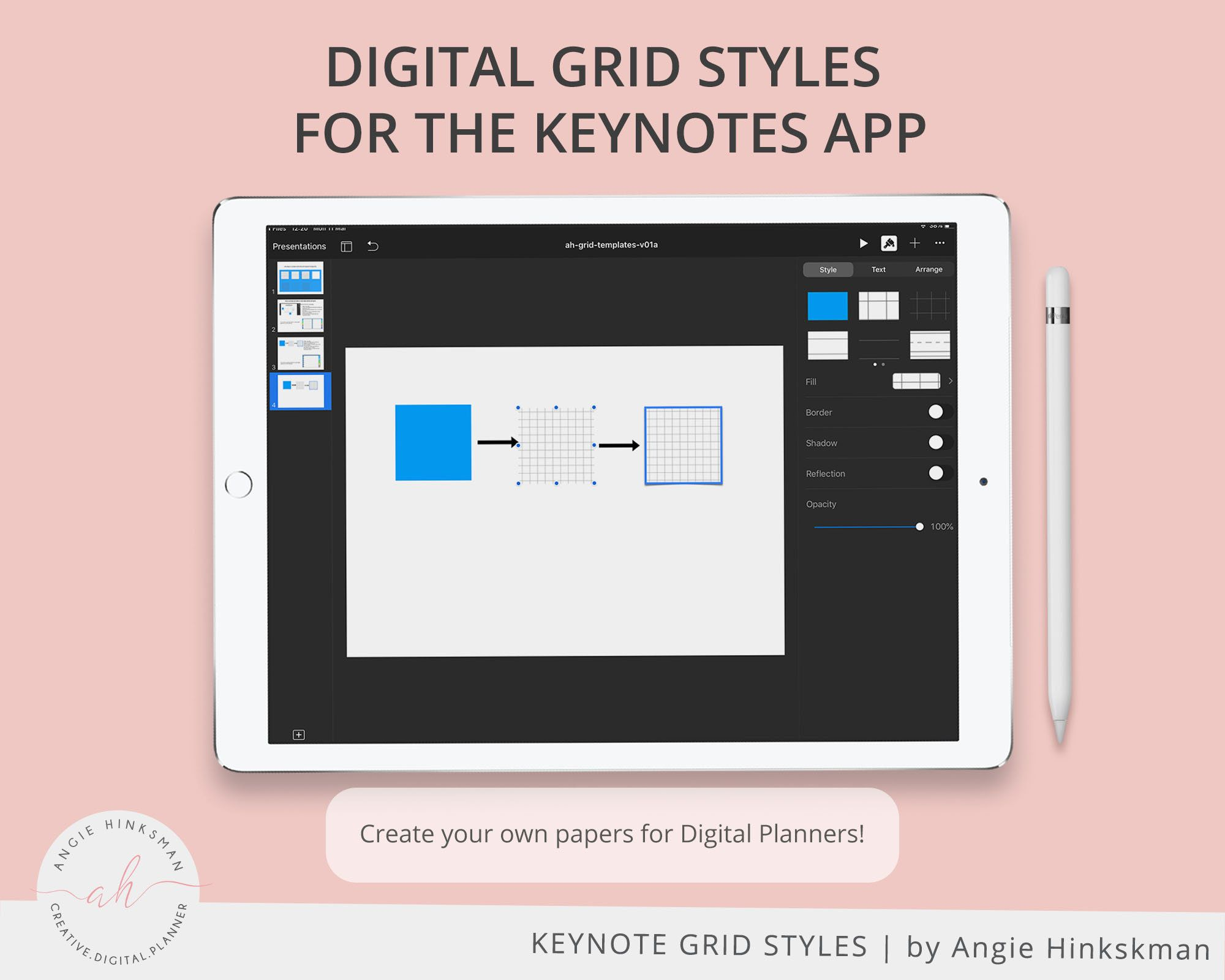 photo regarding Digital Planners and Organizers named Electronic Paper Grid Versions for Keynotes Electronic Planners