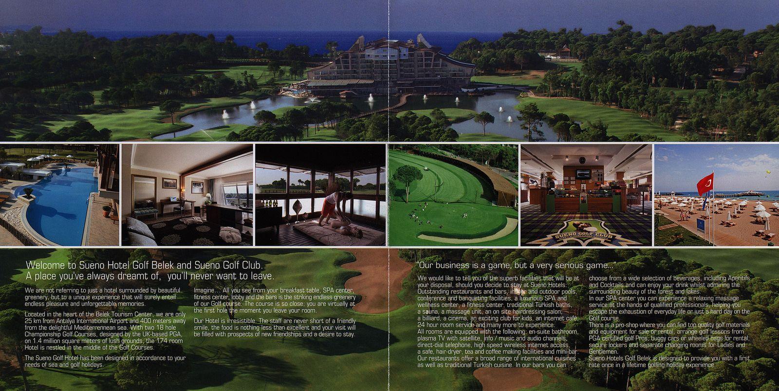 Sueno Hotels Golf Belek 2014 2 Antalya Province Turkey Turkey Hotels Antalya Hotel